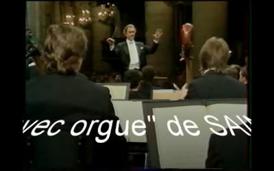 SAINT-SAENS à Notre Dame de Paris (concert 1997)