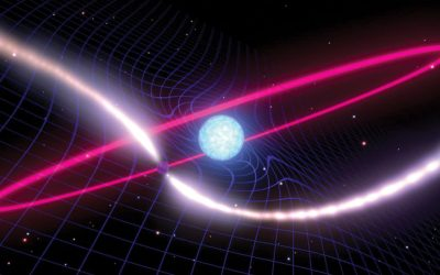 The wobbling orbit of a pulsar proves Einstein right, yet again