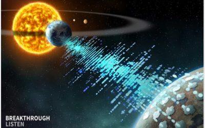 Breakthrough Listen scans Milky Way Galaxy for beacons of civilization