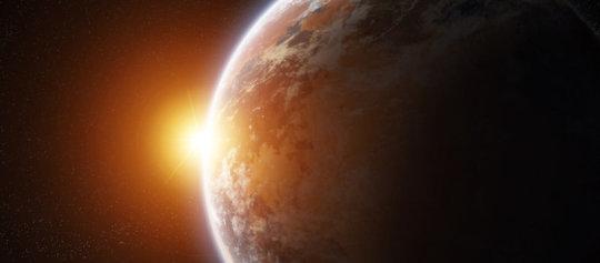 Exoplanet illustration (stock image; elements furnished by NASA). Credit: © sdecoret / Adobe Stock