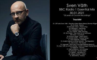 Sven Väth (Alemania) @ BBC Radio 1 Essential Mix 30.01.2021